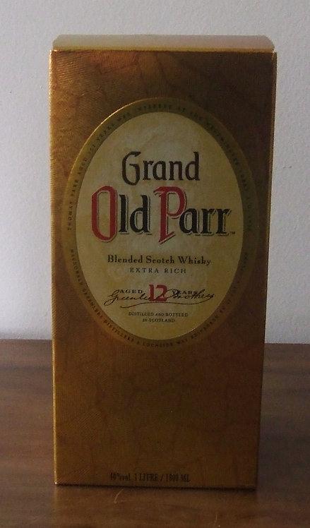 Caixa Vazia de Whisky Grand Old Parr
