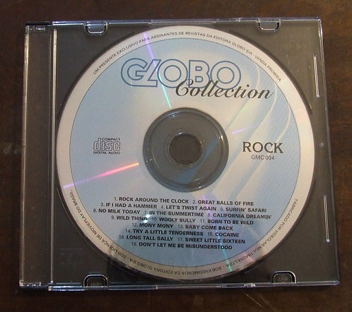 CD Globo Collection Rock
