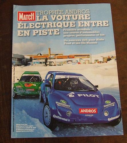 Revista Paris Match - Trophée Andros 2009
