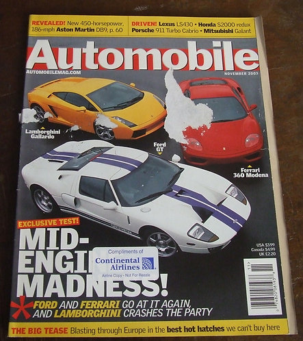 Revista Automobile 2003