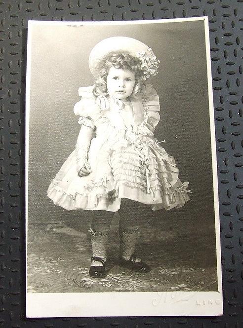 Foto Antiga - Marilzinha 1948