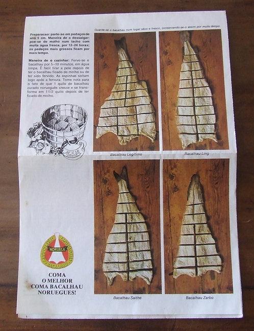 Receituário Antigo Bacalhau da Noruega