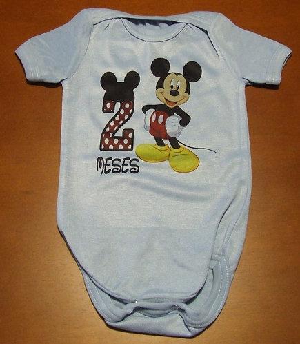 Body Mickey 2 Meses
