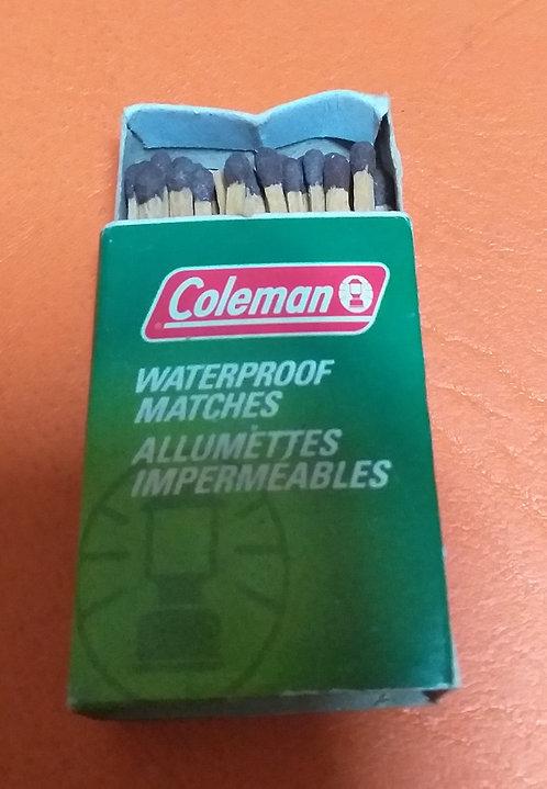 Fósforos para Camping Coleman