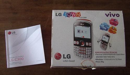 Caixa Celular LG C-300 Town - Vazia