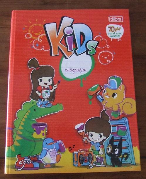 Caderno de Caligrafia Tilibra Kids