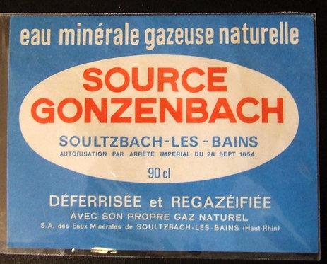 Rótulo Source Gonzenbach