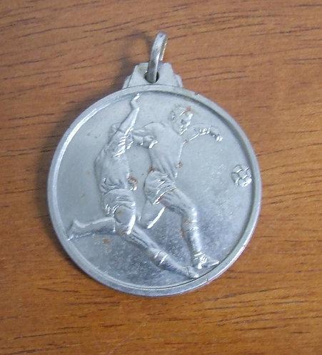 Medalha de Prata Antiga  Futebol