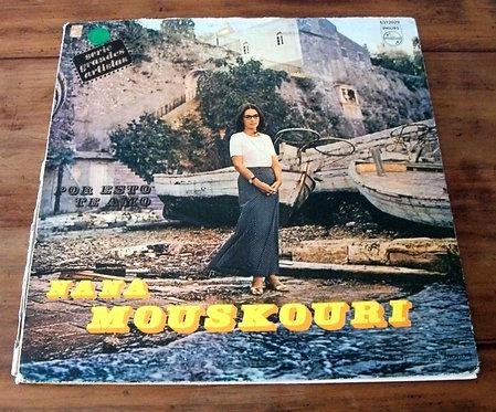 LP Nana Mouskouri – Por Eso Te Amo