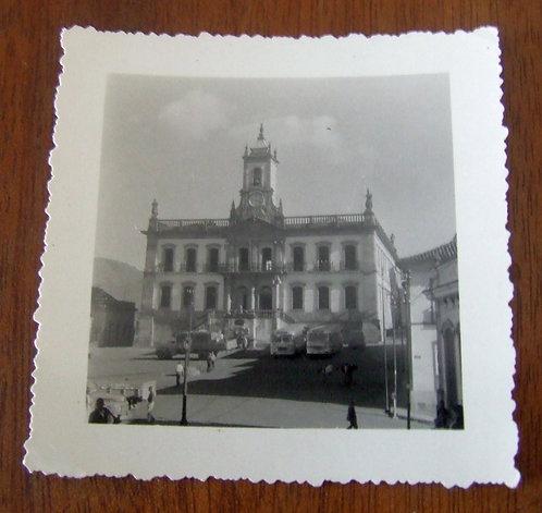Foto Antiga - Museu da Inconfidência de Ouro Preto