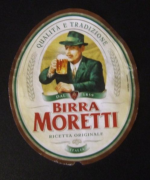 Rótulo Birra Moretti