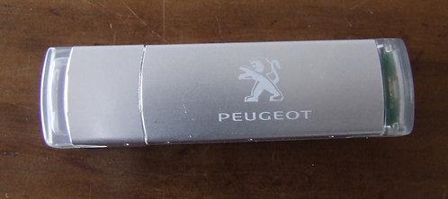 Pen Drive Peugeot - Salão do Automóvel de Paris 2012
