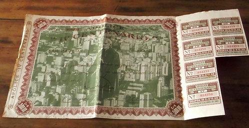 Apólice IV Centenário – São Paulo – Brasil