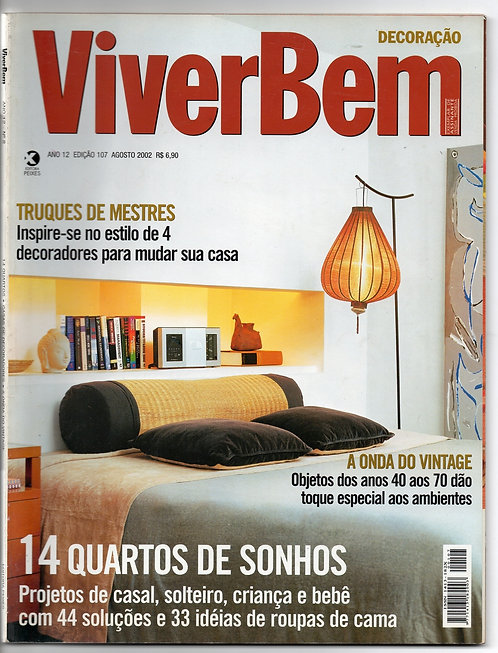Revista Viver Bem Decoração nº 107