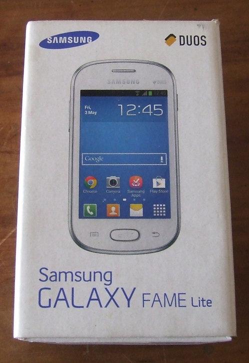 Caixa Celular Samsung Galaxy Fame Lite - Vazia