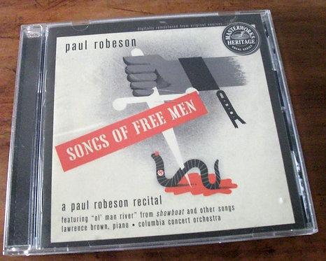 CD Paul Robeson - Songs of Free Men