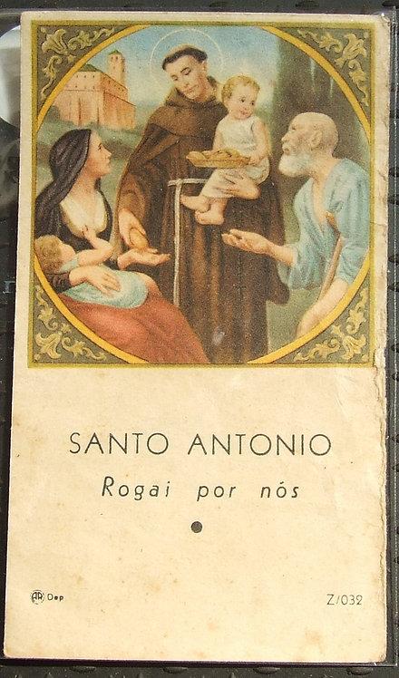 Santinho Santo Antonio Rogai por Nós