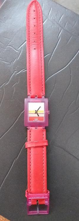 Relógio de Pulso Swatch SUBP100 Pink Miami
