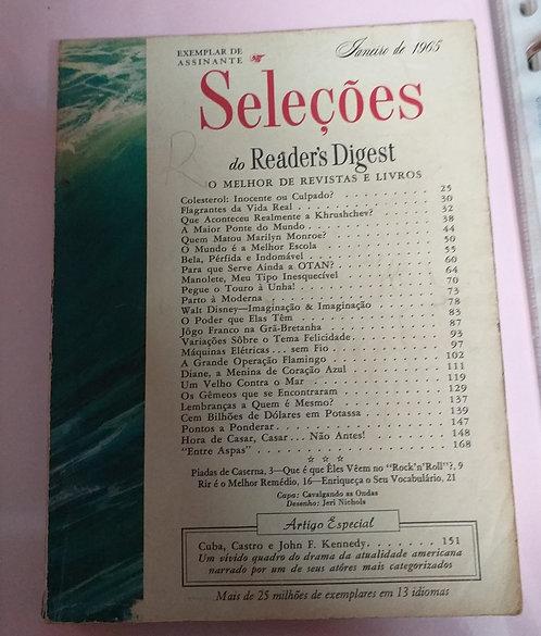 Seleções Reader's Digest - Janeiro 65