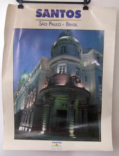 Poster Santos - Bolsa do Café