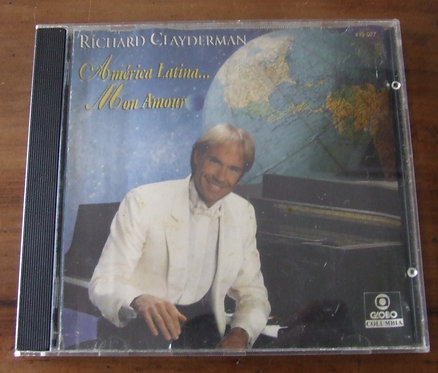 CD América latina… Mon Amour - Richard Clayderman