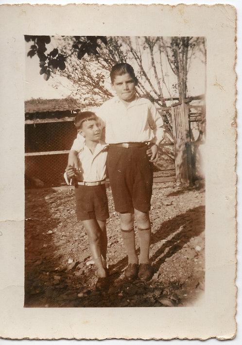Foto Antiga - Companheiros