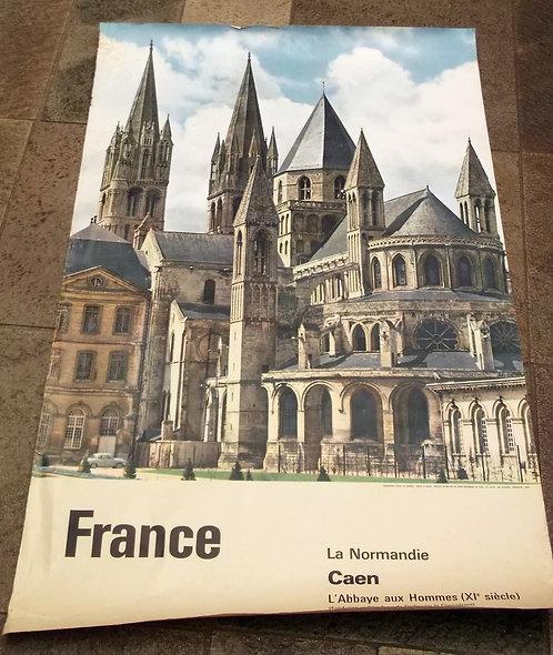 Poster Caen - Normandie