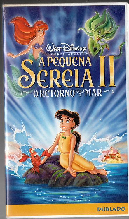 VHS A Pequena Sereia II - O Retorno para o Mar