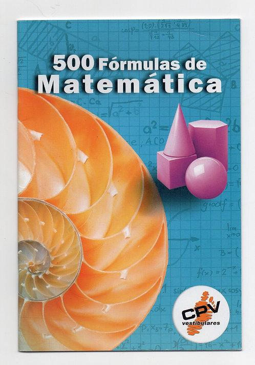 500 Fórmulas de Matemática