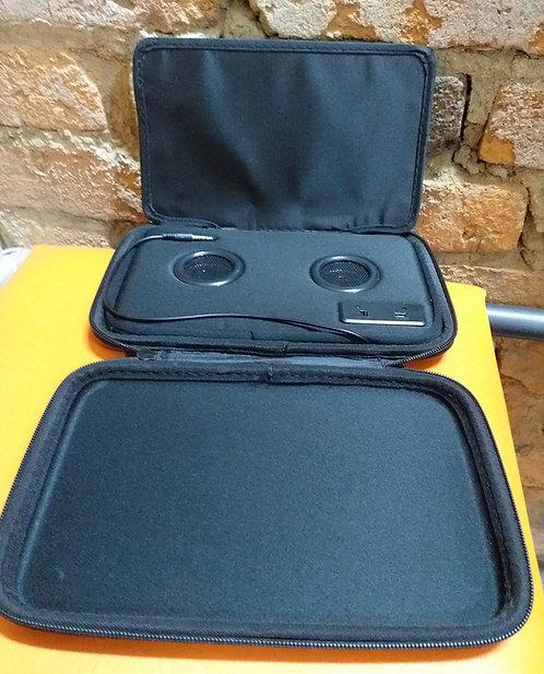 Case com Caixa de Som para Tablet