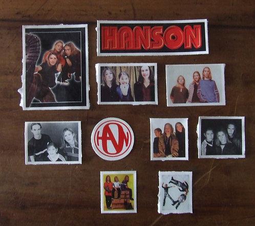 Adesivos Hanson (lote)