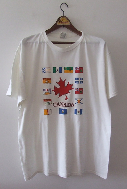 Camiseta Fruit of the Loom Canadá