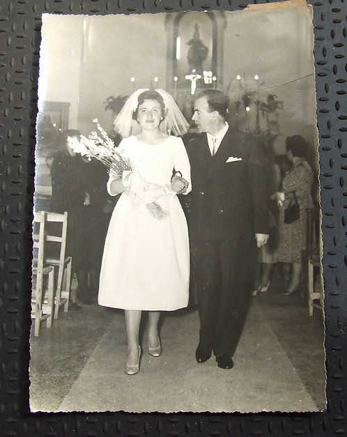 Foto Antiga - Noivos 1959