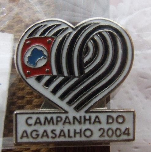 Pin Campanha do Agasalho 2004