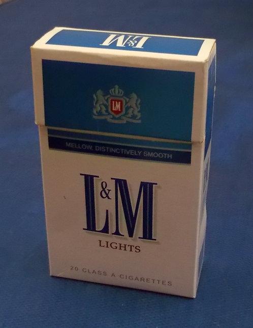 Box de Cigarro L&M (Vazio)