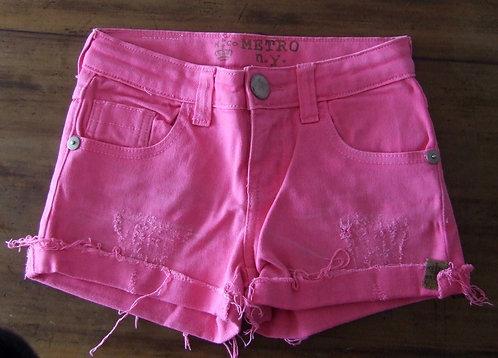 Short Metro Kids Company Pink