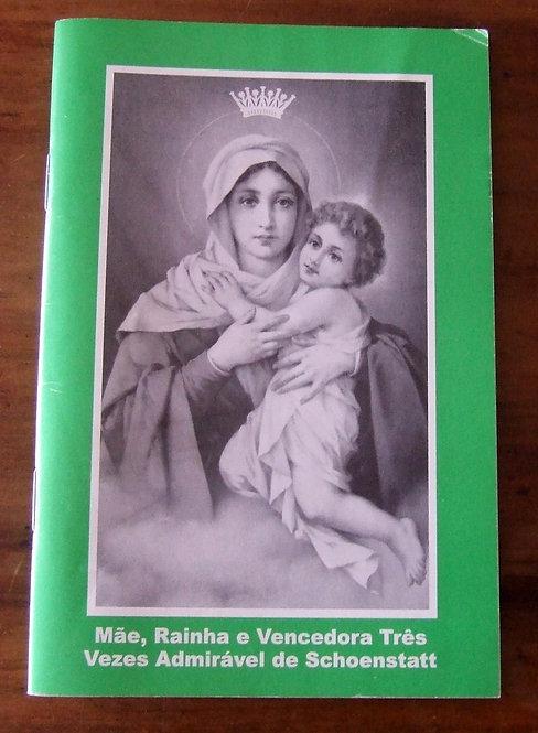 Livreto Novena Nossa Senhora de Schoenstatt