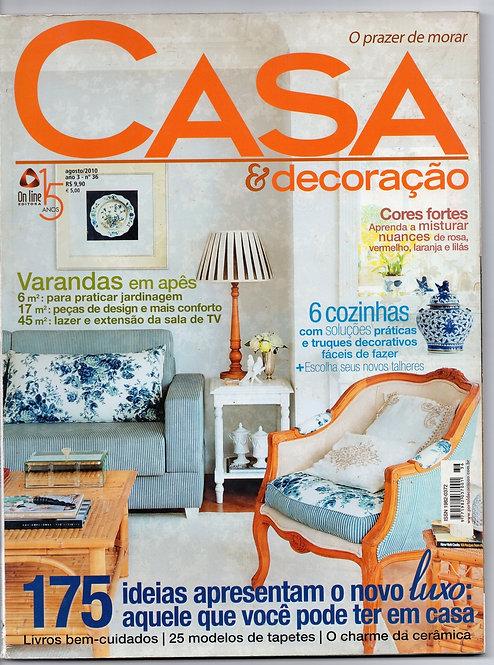Revista Casa e Decoração 36