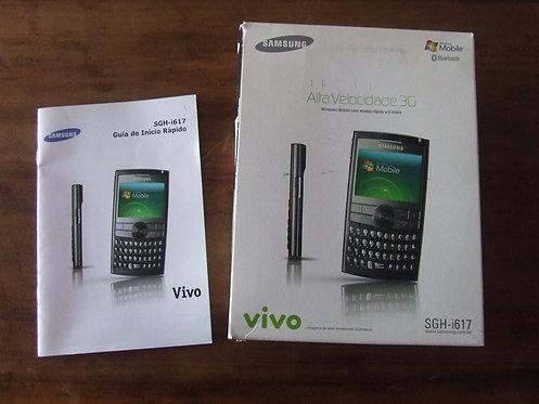 Caixa Celular Samsung SGH-i617