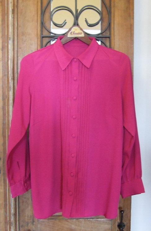 Camisa Rose Pliss