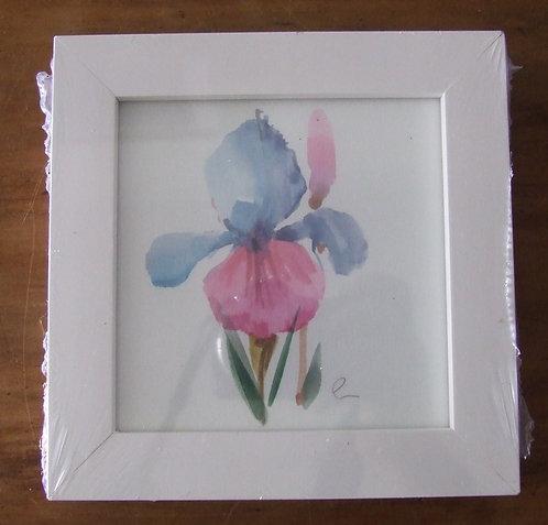 Quadro Flor Aquarela