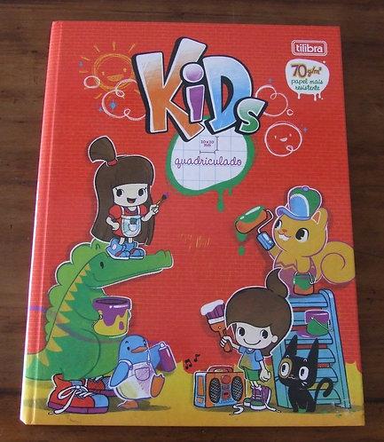 Caderno Quadriculado Tilibra Kids