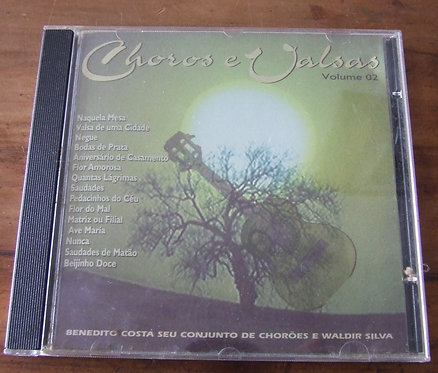CD Choros e Valsas Volume 2