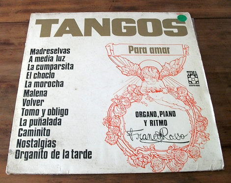 LP Franco Rosso - Tangos para Amar