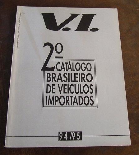 2º Catálogo Brasileiro de Veículos Importados