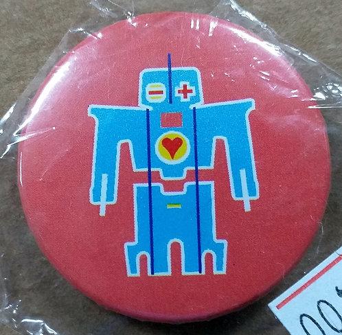 Botton Robot Cuore