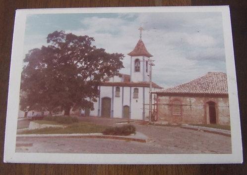 Foto Antiga - Praça em Diamantina MG