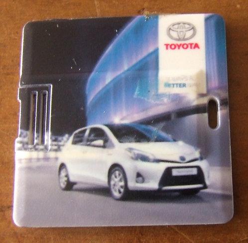 Pen Drive Mini Cartão Toyota - Salão Internacional de Genebra 2012