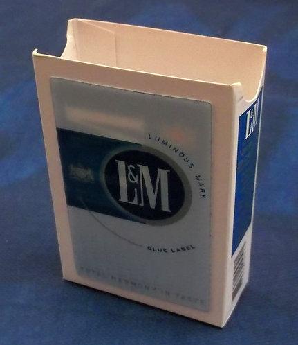 Capa de Maço L&M (efeito 3D)