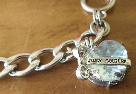 Pulseira Juicy Couture Banner Heart